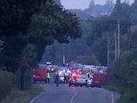 The scene where nine-year-old twin boys were found dead in the Charleville area of north county Cork tonight