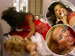 Scary Spice vs The Body! Mel B has mock knock-down fight with Heidi Klum as they battle it out in 'glam-off' on America's Got Talent