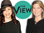 New signings: Actress Rosie Perez and political commentator Nicolle Wallace set to become co-hosts on revamped The View panel