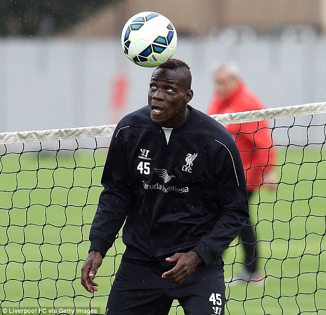 Intelligence: Mario Balotelli boasts clever movement and a cool head in front of goal