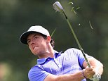 CHERRY HILLS VILLAGE, CO - SEPTEMBER 04:  Rory McIlroy of Northern Ireland hits a shot from the rough on the tenth hole during the first round of the BMW Championship at the Cherry Hills Country Club on September 4, 2014 in Cherry Hills Village, Colorado.  (Photo by Jamie Squire/Getty Images)