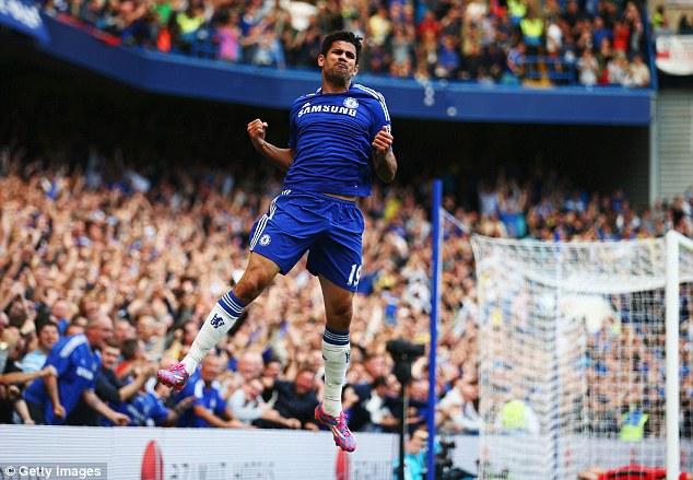 Worth every penny? Chelsea splurged £32m on Atletico Madrid striker Diego Costa