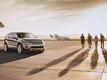 Space flight prize: Four prospective customers are offered the chance to fly into orbit with Sir Richard Branson to mark the launch of the new Land Rover Discovery Sport 4x4