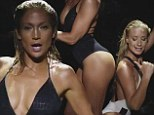 Two hot! Jennifer Lopez and Iggy Azalea get suggestive as they flaunt their figures in sexy swimsuits for Booty remix teaser