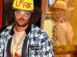 Back to his best! Redfoo puts glassing incident behind him and bumps and grinds with new South American 'girlfriend' at his Bondi birthday bash