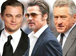 Brad Pitt, Leonardo DiCaprio and Robert De Niro 'will be paid $13m EACH for 2 days work on splashy short film to promote James Packer's Macau casino'