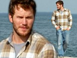 Back to the day job! Guardians Of The Galaxy star Chris Pratt comes back down to Earth as he films Parks And Recreation