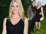 WINDSOR, ENGLAND - SEPTEMBER 04:  PREMIUM PRICING APPLIES.  David Walliams (L) and Lara Stone attend the Woodside End of Summer party to benefit the Elton John AIDS Foundation sponsored by Chopard and Grey Goose at Woodside on September 4, 2014 in Windsor, England.  A percentage of revenue from the sale of this image will be donated to the Elton John AIDS Foundation. EJAF is one of the world's largest HIV grant-makers ejaf.org/London  (Photo by Dave Benett/Elton John AIDS Foundation/WireImage)
