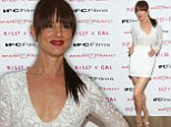 Natural born beauty! Juliette Lewis is white hot in plunging mini dress at screening of her new film Kelly And Cal in New York