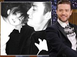 Playing favorites: Justin Timberlake shared a throwback photo on Twitter on Thursday of himself with goddaughter Sophia