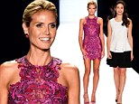 Team effort! Heidi Klum took to the runway with her Project Runway team Nina Garcia and Zac Posen as well as guest judge Emmy Rossum at the Project Runway show during New York Fashion Week on Friday