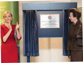 Opening of the Anne Rowling Neurology Clinic