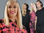 The return: Gwen Stefani took over the stage at Lincoln Center on Friday when she unveiled the spring/summer line for her L.A.M.B clothing brand