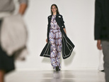 Fashion from the Richard Chai Spring 2015 collection is modeled during Fashion Week on Thursday, Sept. 4, 2014 in New York.  (AP Photo/Bebeto Matthews)