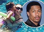 Not missing you at all, Nick! Mariah Carey shares playful pool snaps with children amid 'marriage breakdown'