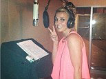 Britney Spears dives back into work and heads to the recording studio following breakup with boyfriend David Lucado