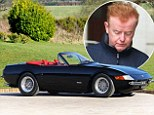 Chris Evans splashes out £2.27m on classic Daytona Spyder... just days after being left red-faced by filling his petrol car with diesel