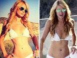 Been on the Photoshop diet? Paris Hilton has unnaturally skinny waist in her posed Instagram