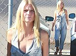 Picture Shows: Gwyneth Paltrow  September 03, 2014    'Mortdecai' actress Gwyneth Paltrow arriving for an appearance on 'Jimmy Kimmel Live!' in Hollywood, California. Gwyneth looked cute and casual in a pale blue denim jumpsuit.    Non-Exclusive  UK RIGHTS ONLY    Pictures by : FameFlynet UK    2014  Tel : +44 (0)20 3551 5049  Email : info@fameflynet.uk.com