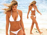 Amy Willerton in Mauritus with pals