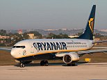 D106CX Ryanair Boeing 737-800 taxiing for departure from Malta