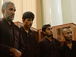 An Afghan judge on September 7 sentenced seven men to death for the gang-rape of four women in a case that has sparked nationwide outrage