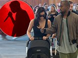 Kim Kardashian and Kanye West seen with baby North West arrived at the Adelaide Airport. The pair were whisked away as they made their way through the airport. Kim has just arrived in Australia to join Kanye West on his tour. Baby North West was in a stroller as Kim and Kanye got off flight. There was a large contingency of media and fans awaiting their arrival.\n\nPictured: Kanye West, Kim Kardashian and North West\nRef: SPL832289  060914  \nPicture by: Splash News\n\nSplash News and Pictures\nLos Angeles: 310-821-2666\nNew York: 212-619-2666\nLondon: 870-934-2666\nphotodesk@splashnews.com\n