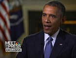 FINALLY: President Barack Obama said in an interview with Meet the Press that aired this morning that he would reveal his strategy to take down Islamic extremists in Iraq and Syria in an address on Wednesday
