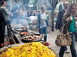 Big business: Street food has become popular as people look to tickle their tastebuds and try something new