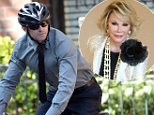 Hugh Jackman rode his bicycle to the Joan Rivers funeral in Manhattan. Jackman performed at the funeral and is pictured departing his West Village residence.\n\nPictured: Hugh Jackman\nRef: SPL836243  070914  \nPicture by: Doug Meszler / Splash News\n\nSplash News and Pictures\nLos Angeles: 310-821-2666\nNew York: 212-619-2666\nLondon: 870-934-2666\nphotodesk@splashnews.com\n
