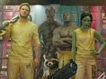 Top again: Guardians Of The Galaxy finished in first place at the weekend box office for a fourth weekend with ticket sales of $10.2 million