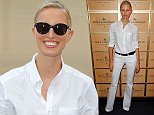 NEW YORK, NY - SEPTEMBER 07:  Karolina Kurkova attends the Moet & Chandon Suite at The 2014 US Open during the Women's Final at USTA Billie Jean King National Tennis Center on September 7, 2014 in New York City.  (Photo by Joe Scarnici/Getty Images for Moet & Chandon)