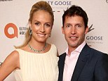 Musician James Blunt 'married fiancée Sofia Wellesley in a small chapel in Mallorca'
