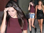 Twice as nice! Kendall Jenner and Gigi Hadid nail off-duty model chic as they flash the flesh during night out in New York