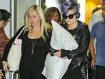 NEW YORK, NY - SEPTEMBER 06: Kelly Osbourne is spotted arriving at JFK Airport on September 6, 2014 in New York City. (Photo by Jeffery Duran) <P> Pictured: Kelly Osbourne <B>Ref: SPL836136  060914  </B><BR/> Picture by: Jeffery Duran / Splash News<BR/> </P> <P><B>Splash News and Pictures</B><BR/> Los Angeles: 310-821-2666<BR/> New York: 212-619-2666<BR/> London: 870-934-2666<BR/> photodesk@splashnews.com<BR/> </P>