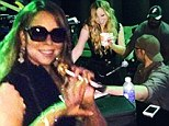 Mariah Carey throws herself into her music amid drama with husband Nick Cannon as she gears up for upcoming tour