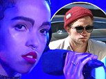 FKA Twigs hints at relationship with Robert Pattinson saying 'maybe this isn't a serious thing, but it's perfect for right now' as she covers Sam Smith