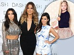 Coming soon! The Kardahians announce that their Kardashian Kids collection will include toddler sizes for the Fall