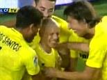 Netting the opener: Gohan scored straight from kick-off for Villarreal