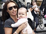 Picture Shows: Tamara Ecclestone, Sophia Eccelstone-Rutland  September 10, 2014\n \n Heiress Tamara Ecclestone carries her daughter Sophia in London. Tamara wore her work out clothes, it appears she is still working on her post-baby body.\n \n Exclusive All Rounder\n Worldwide Rights\n Pictures by : FameFlynet UK © 2014\n Tel : +44 (0)20 3551 5049\n Email : info@fameflynet.uk.com