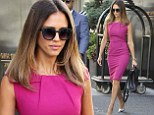 'I was always insecure!' Jessica Alba shows off her amazing figure in hot pink dress as she opens up about feeling inadequate in her 20s