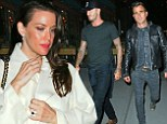 Who knew they were friends? The Leftovers co-stars Liv Tyler and Justin Theroux dined with David Beckham at Il Buco in New York City on Tuesday