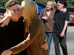 PICTURE EXCLUSIVE: Neil Young, 68, and Daryl Hannah, 53, enjoy a cosy date together... less than a month after he files for divorce from his wife of 36 years