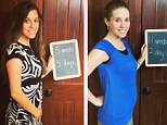 Jill Duggar and Derick Dillard give first look at growing baby bump since announcing pregnancy just eight weeks after wedding