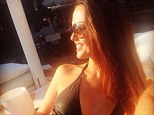 Alright for sun:Jennifer Metcalfe couldn¿t resist squeezing in a break before leaving the show as she enjoyed a quick getaway to France for her birthday
