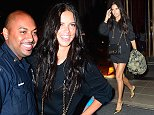 Mandatory Credit: Photo by Startraks Photo/REX (4102869a)\n Adriana Lima\n Adriana Lima out and about, New York, America - 09 Sep 2014\n Adriana Lima Exiting the Trump Soho Hotel\n