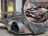 First look: Photos of the Batmobile have emerged from the set of Batman V Superman: Dawn Of Justice