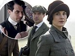 Downton Abbey S5\nThe fifth series, set in 1924, sees the return of our much loved characters in the sumptuous setting of Downton Abbey. As they face new challenges, the Crawley family and the servants who work for them remain inseparably interlinked.\nALLEN LEECH as Tom Branson, TOM CULLEN as Gillingham and MICHELLE DOCKERY as Lady Mary Crawley. \nPhotographer: Nick Briggs