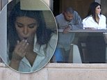 11/09/14, Sydney. N.S.W. Australia\nNON Exclusive\nCredit SKIPPIX\nKim Kardashian and Kanye West arrive in Sydney for Kanye tour of Australia. On arrival at there hotel, they admired their of Sydney harbour.\n