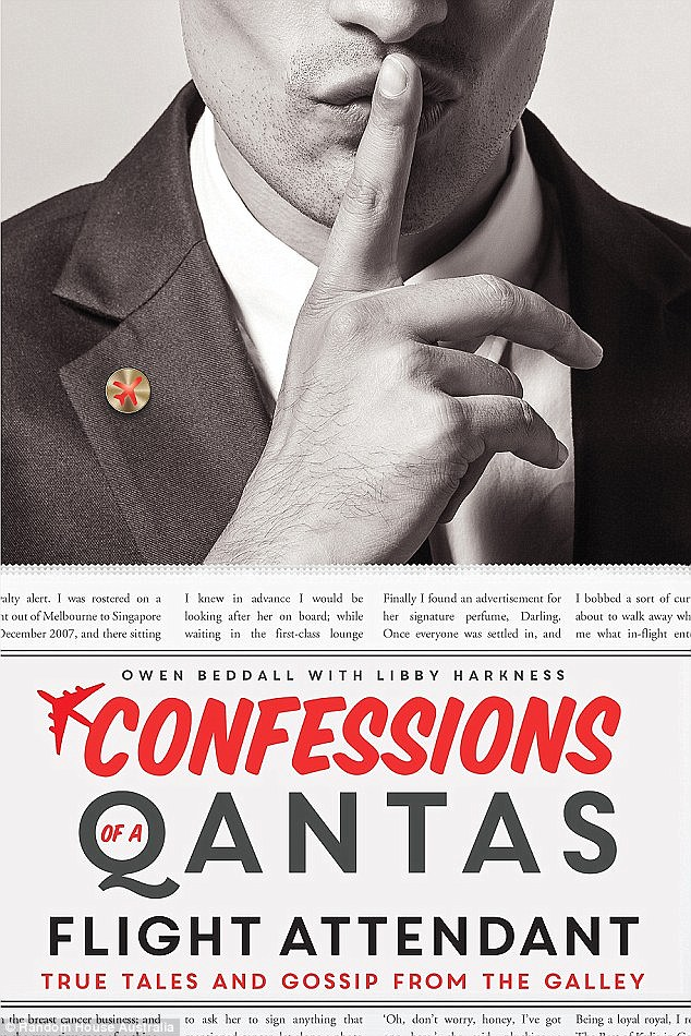 Mr Beddall highlights of his 12-year career for Qantas in his tell-all memoir